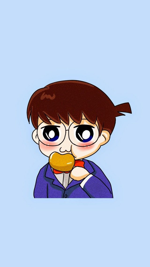 Mobile9 Cute Wallpapers Detective Conan Check Out These 9 Chibi Cartoon Anime