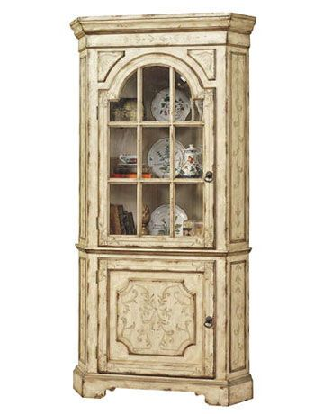 1000 Images About Corner China Cabinets On Pinterest