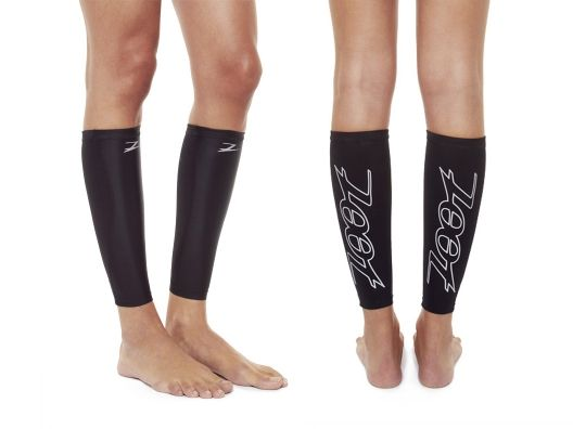 Great gift for runners. Compression Calf Sleeves by Zoot. I can attest recovery time is much faster with these!