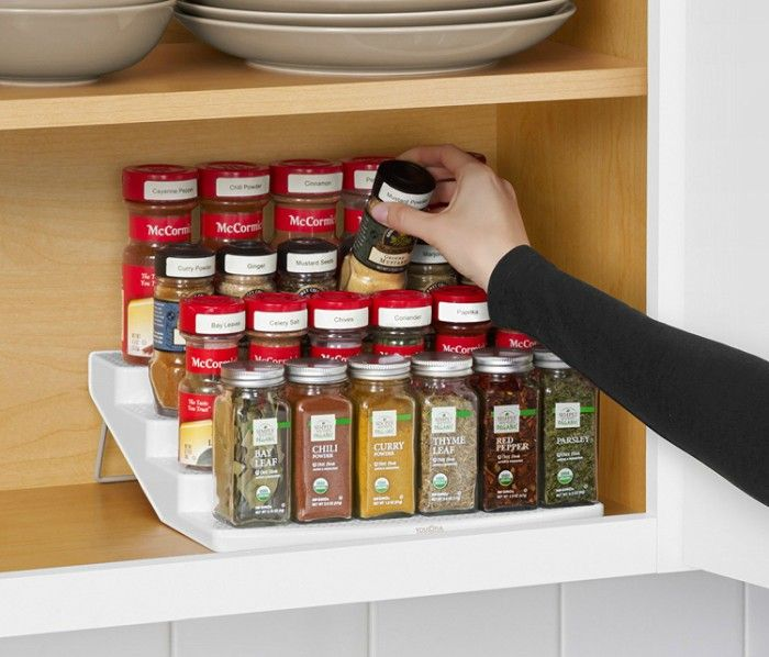 Kitchen Shelf For Spices: 1000+ Ideas About Spice Cabinet Organize On Pinterest