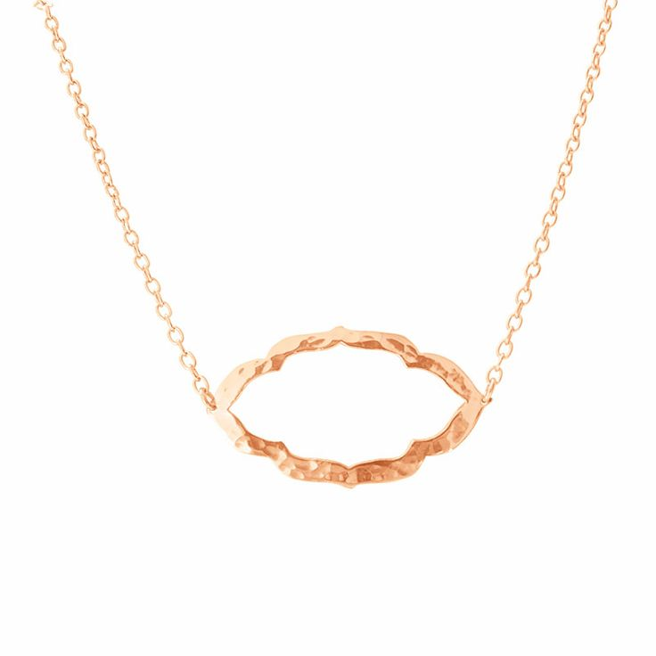 Another look for The Nomad Necklace in Rose Gold. Shop this collection at www.murkani.com.au