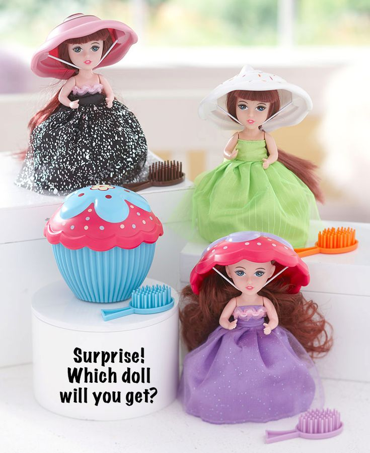Surprise Dessert Divas Scented Cupcake Dolls | LTD Commodities