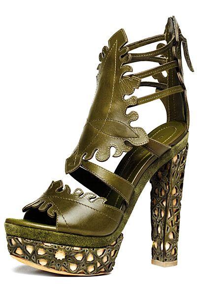 Donna Karan - Shoes - 2011 Spring-Summer