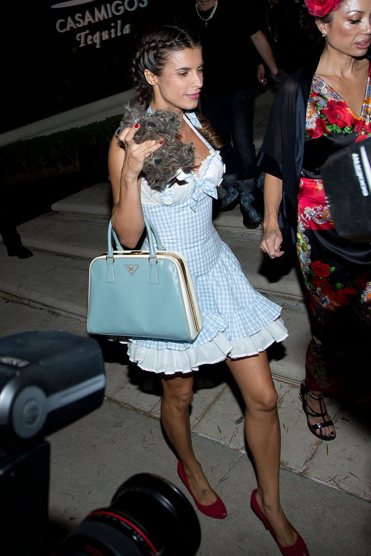 Elisabetta Canalis as Dorothy at the Casamigos Annual Halloween Party.