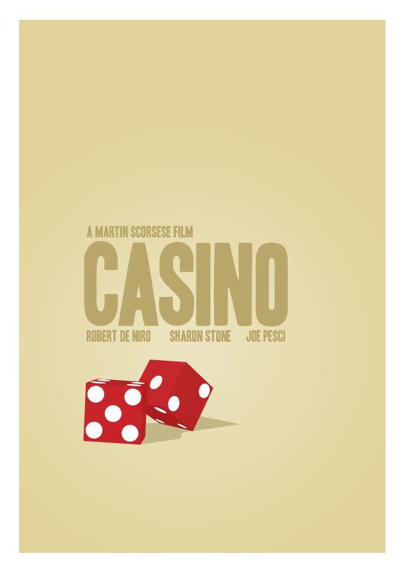 Casino Movie Poster by David Watts - 'Dice'
