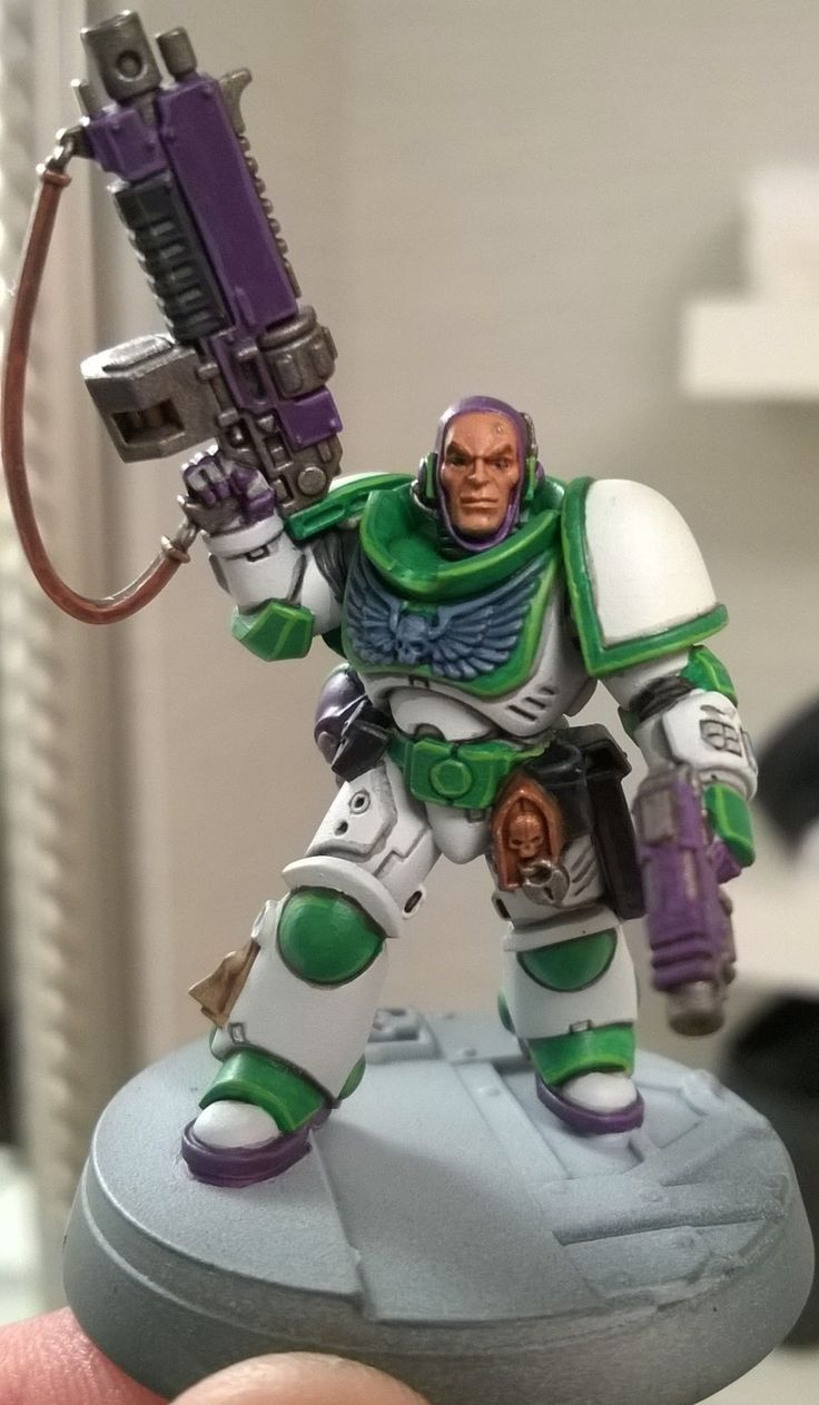 A Buzz Lightyear Spacemarine, not sure it is 100% finished.