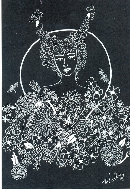 ladyblack by Natália Wella, via Flickr