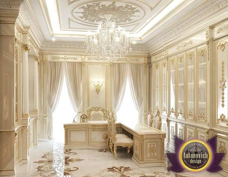 Luxury Office Design of Luxury Antonovich Design, Katrina Antonovich