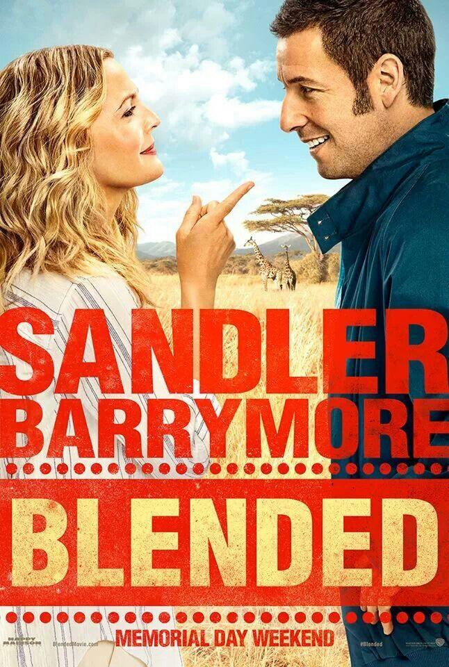Blended ~ Adam Sandler & Drew Barrymore