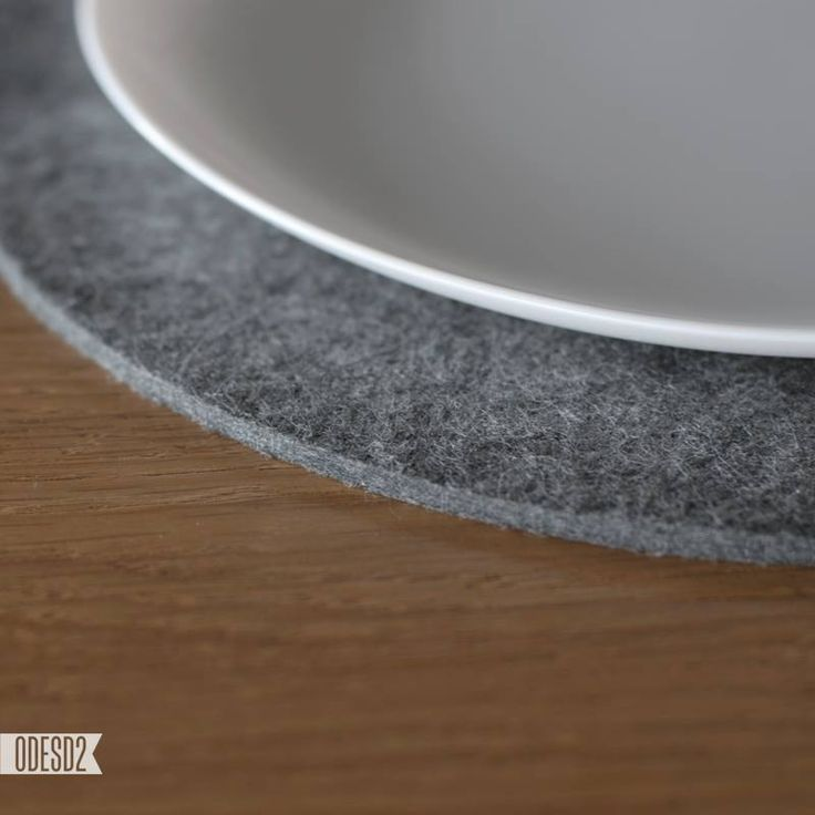 Round felt placemat by ODESD2