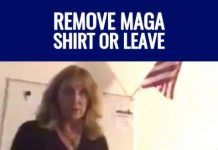 "Woodstock GA Math Teacher Bans #MAGA Trump Shirts ""just like a swastika."" Fire the teacher?"