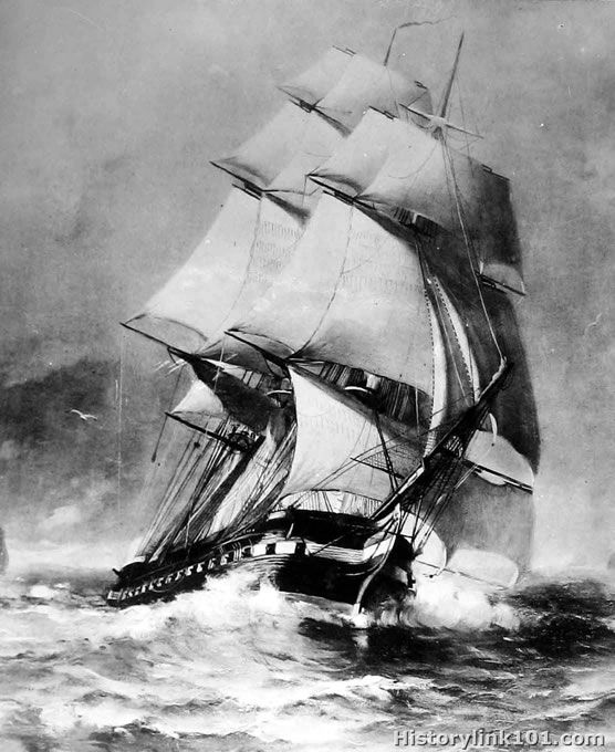 USS Constitution - Sailing Ships from the United States Navy