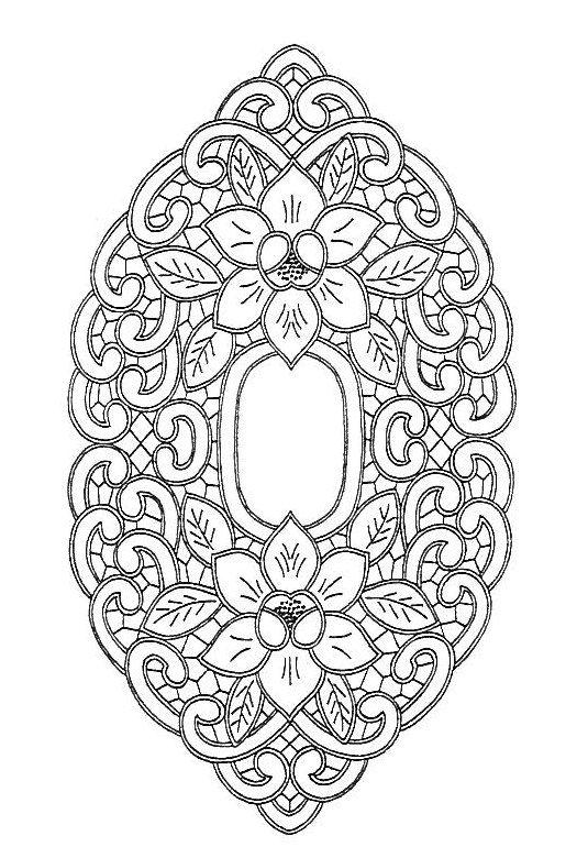 Ubrus ovál, 50 x 29 cm