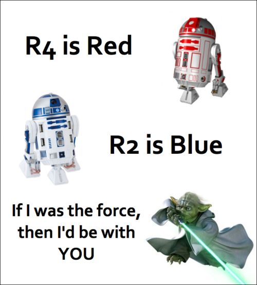 star wars valentine cheesy but to cute. This would so make me happy if my valentine said this to me