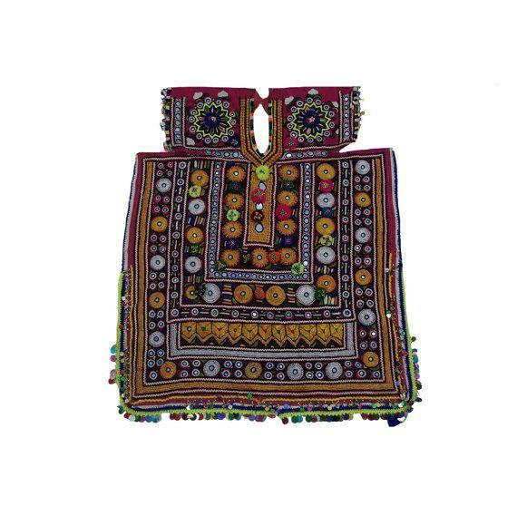 Vinatage Hand Embroidered Banjara Yoke Gypsy by MyCraftPalace