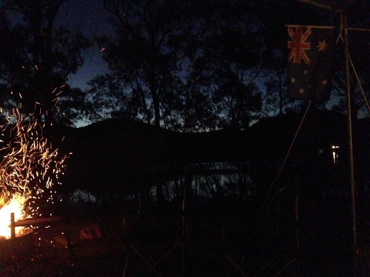 #Campfire and the #AussieFlag