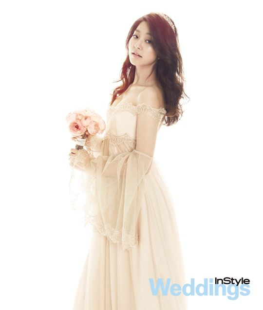 Park Se-young // InStyle Weddings // April 2013