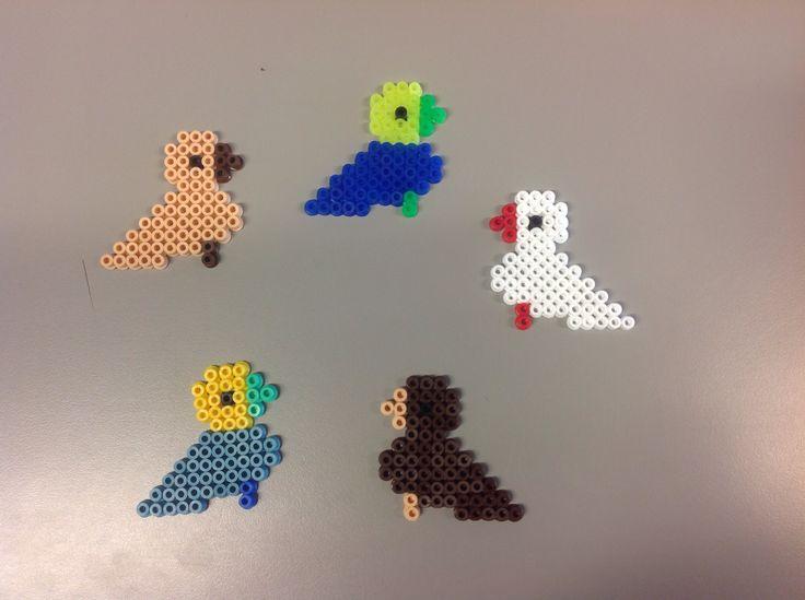 Kay Bojesen fugle af perler.