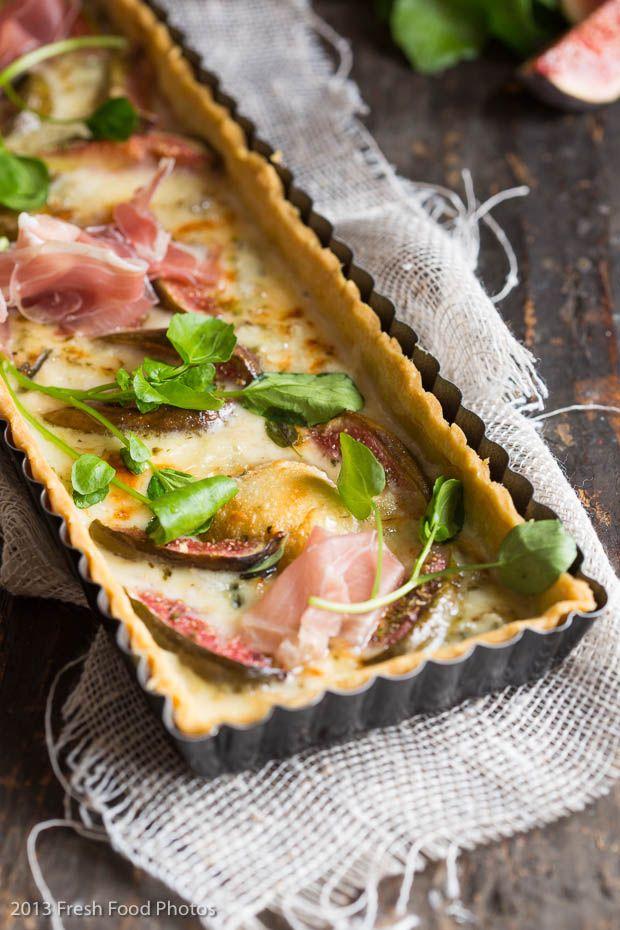fig & gorgonzola tart with parma ham   Eats!   Pinterest   Figs, Tarts ...