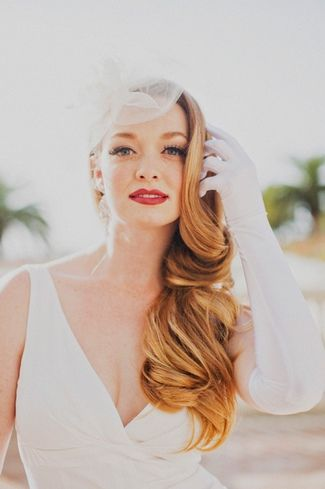 {1920's to 1950′s} Vintage Bridal Beauty Trends| Confetti Daydreams – Wedding Blog