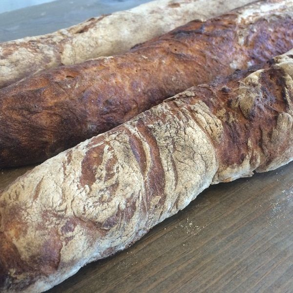 We set out to create some beautiful rustic old world bread. Let's get rid of the filler and the preservatives and start creating bread the way it's supposed to be, with unbleached organic flour and simple ingredients. #radicalgardens