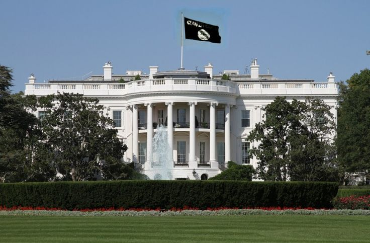BARACK HUSSEIN OBAMA is trying to make the Islamic holiday of Eid (last day of Ramadan) an official American national holiday before he leaves office.  Barack INSANE Obama should go @#$%(*&^ himself.  WhiteHouseISIS-e1437247306879