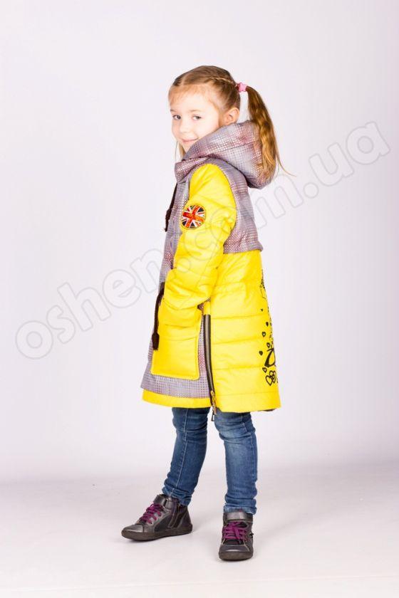 """Демисезонная куртка на девочку """"Точка"""""""
