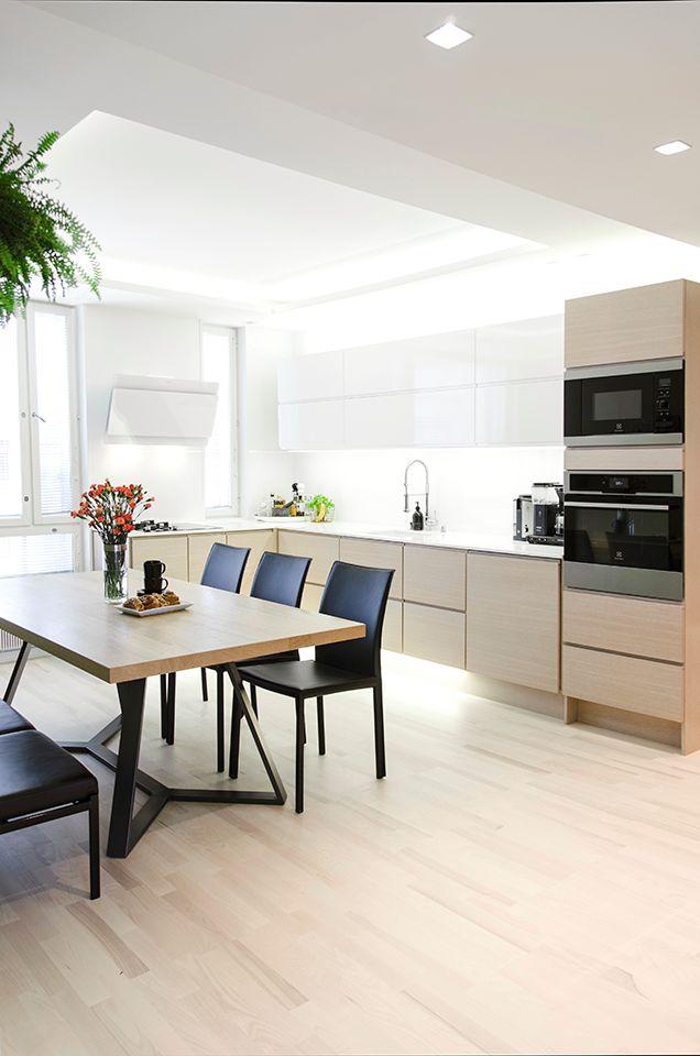 Scandinavian interior design, kitchen. Skandinaavinen sisustussuunnittelu, keittiö. Skandinavisk inredningsdesign, kök.