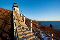 Owls Head Lighthouse, Owls Head, Maine, just a short ride from Abbington's Seaview Motel & Cottages and Rockland, ME