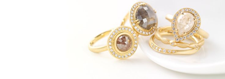 Unique Engagement Rings | Bridal Rings | Alternative Bridal Jewellery | Yellow, White Gold & Platinum Diamond Rings | Page 2
