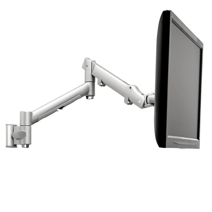 Systema SWS6S | Spring monitor arm 60mm channel wall mount | Atdec Mounting Solutions