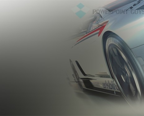 Car Racing Powerpoint Slide Template  Sports Powerpoint Templates