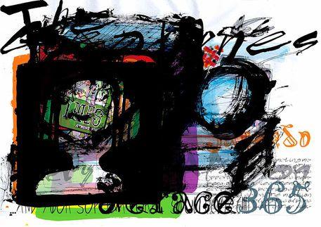 'NEu Tymes 14-60,61' by Petros Vasiadis on artflakes.com as poster or art print $20.79