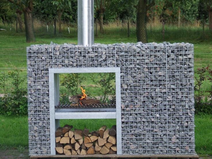 Terrashaard - Garden Fireplace     Gardeco - Muurhaard