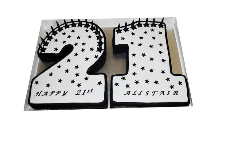 21st Birthday Cake Like us at www.facebook.com/melianndesigns