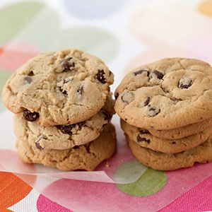 Cooking Light chocolate chip cookie  (1 cookie)  88 calories  3 grams fat  1.8 grams saturated fat  0 grams trans fats
