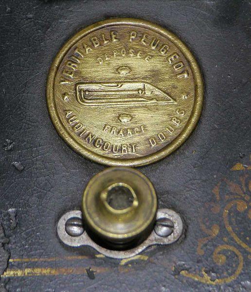 Peugeot.Emblem.Sewing.Machine
