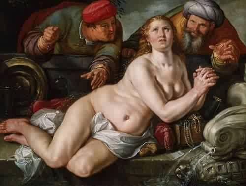 ConSentido Propio: Susana: La Hija de los Lirios (2) Goltzius