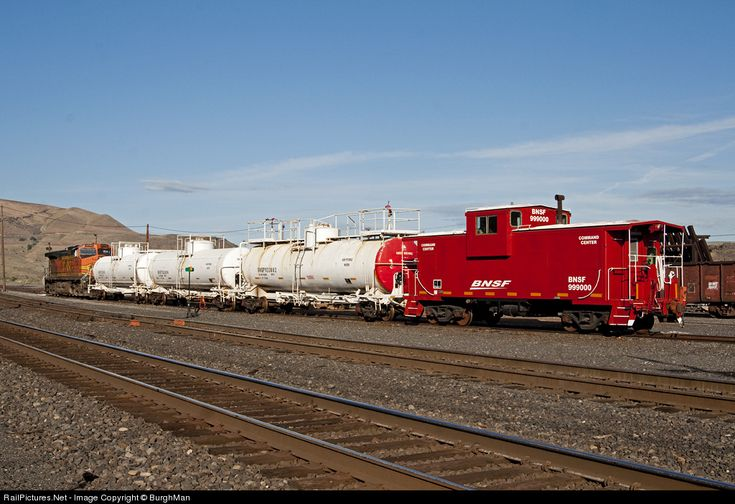 RailPictures.Net Photo: BNSF 999000 BNSF Railway Caboose at Wishram, Washington by BurghMan