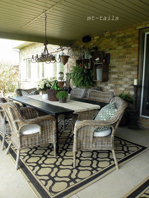 outdoor siesta time, outdoor living, patio, dining space chairs are byholma from ikea