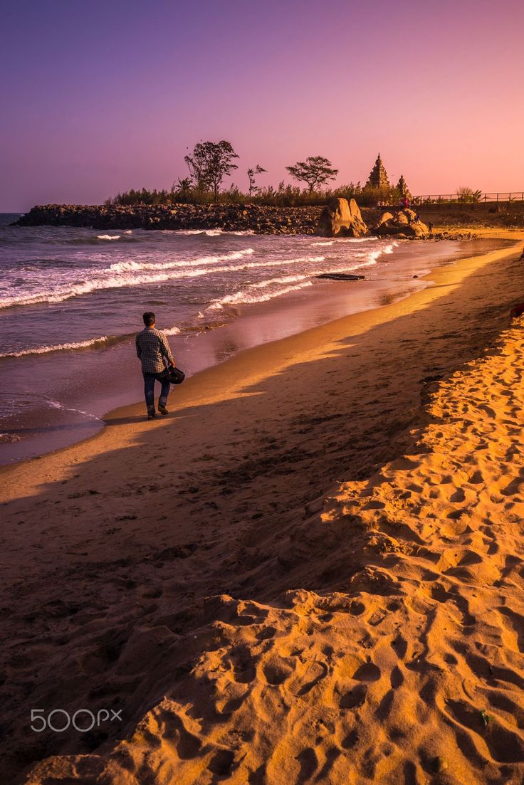 Mahabalipuram Beach@Chennai,Tamilnadu,India