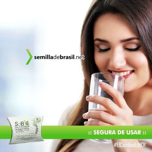La Semilla de Brasil es segura y fácil de Usar; se toma como una pastilla (sin masticarla) con un vaso de agua por las noches antes de dormir(solo una vez al día).