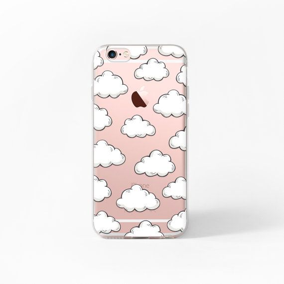 iPhone 6 Fall Wolken iPhone 6 s Fall klar iPhone von MargaritaCase                                                                                                                                                                                 More