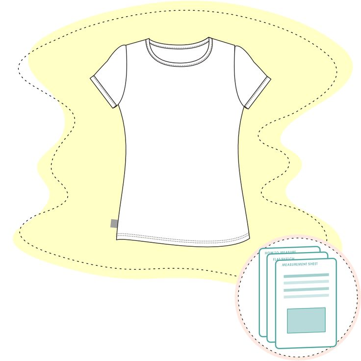 Tech Pack Template - Girls Short Sleeve Tee Size range 2 – 10 Y Recommended fabric: Jersey 95% Cotton 2% Elastane. Or similar.  Ready-to-use documents for a perfect fit Documents are ready to send to man…