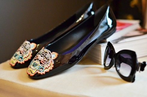BALLERINE KENZO & SNEAKERS CON ZEPPA - trend 2013 fashion blogger