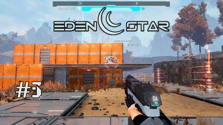 Eden Star (gameplay co-op) #3 Выносим чужую базу