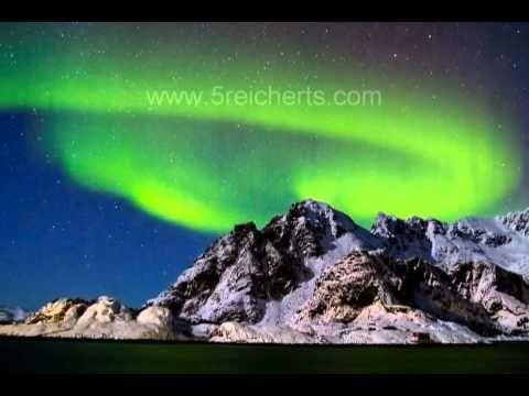 Nordlicht auf den Lofoten - YouTube