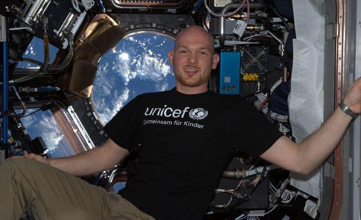 TOP: Alexander Gerst wird Unicef-Botschafter. Perfekte Ansprache für Kinder, die begeistert den Weltraum-Aufenthalt von Alexander gerst verfolgt haben!