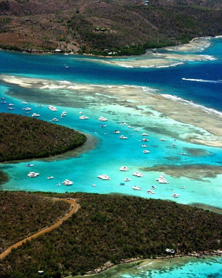 Culebra, Puerto Rico - take the charter plane, not the ferry. You'll thank me, I promise!