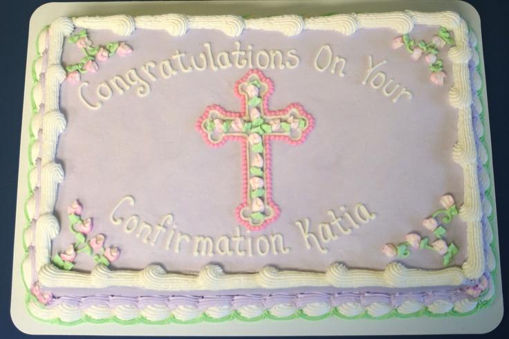 Confirmation cake Cake Decorating Pinterest Cakes ...